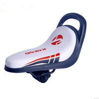 Child Children Bike Bicycle Seat Soft Cycling Saddle With Handles Bicycle Parts Cushion Almofada Bicycle Child