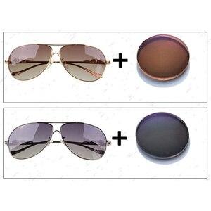 Image 2 - 1.499 CR 39 Polarize reçete optik lensler sürüş balıkçılık için UV400 parlama önleyici Polarize Lens