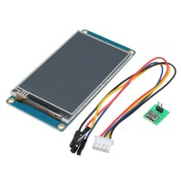 3.2 HMI Intelligent Smart USART UART Serial Touch TFT LCD Module Display Panel For Raspberry Pi 2 A+ B+ for Arduino Kits