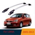 Для Suzuki LIANA 2005-2013, багажник на крыше, Алюминиевые боксы легко установить Без бурения багажник АВТО ремонт