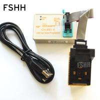 IC обнаружить ch2015 высокий интеллектуальный Скорость USB программатор + QFN32 адаптер wson32 dfn32 MLF32 для mega88p MEGA328P AVR программист
