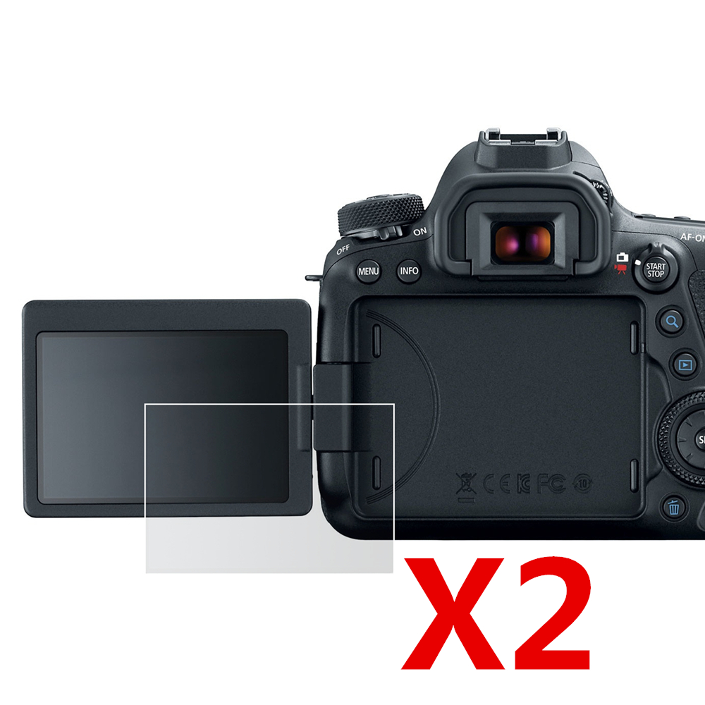 2pcs Soft LCD Screen Plastic Film Protector for Canon EOS 200D Rebel SL2 Kiss X9 DSLR Camera - ANKUX Tech Co., Ltd