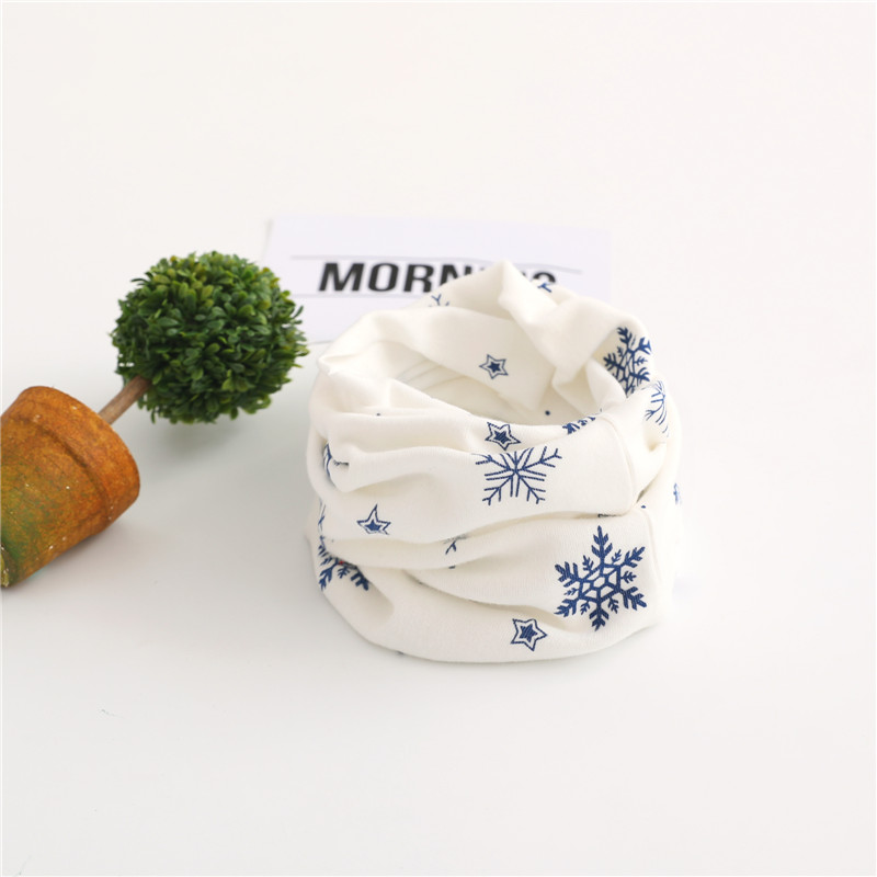 Осенне-зимний детский хлопковый шарф для девочек и мальчиков теплые шарфы Детский круглый кольцевой ошейник Детский шарф детский волшебный шейный платок