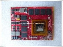 Original 0G51FX 4XRDT 04XRDT FOR Alienware M17x M15X R1 R2 Radeon HD4870M 4870M 1GB vga Card fully tested цена и фото