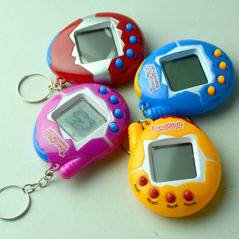 Rosiky Tamagochi Electronic Pets Toys Virtual Cyber Digital Pets Retro Game Funny Toys Handheld Game Machine For Gift все цены