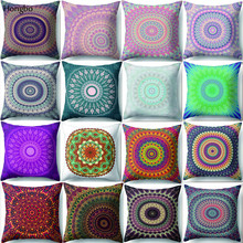 Hongbo Mandala Polyester Cushion Cover Bohemian Geometric Pillow Case Home Decorative For Sofa Car almofada Cojines