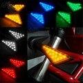 colorful motorcycle turn signal light for yamaha honda suzuki motorbike LED motocross LED indicator amber blinker lamp flashers