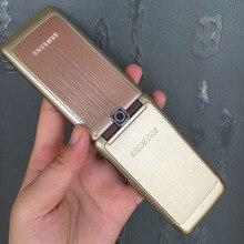 Отремонтированный разблокированный SAMSUNG S3600 Мобильный телефон английский русский клавиатура и один год гарантии