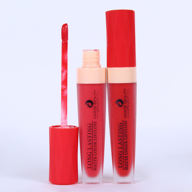LEARNEVER 12pcs multicolor Box Moisturizing Lip Gloss Moisturizing Sexy Colors Waterproof Long Lasting Matte Liquid Lip Stick