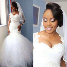 lakshmigown 2019 Nigerian Mermaid Church Wedding Dresses