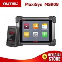 Autel MaxiSys MS908 OBD2 автомобильный диагностический инструмент сканер анализа Системы со всеми Системы s OBDII ЭКЮ продвинутыми кодирования PK MS908P