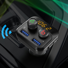 CDEN Car MP3 Player 5.0 Bluetooth FM Transmitter USB Charger U Disk Lossless Music Stereo EQ Sound Effect Kit