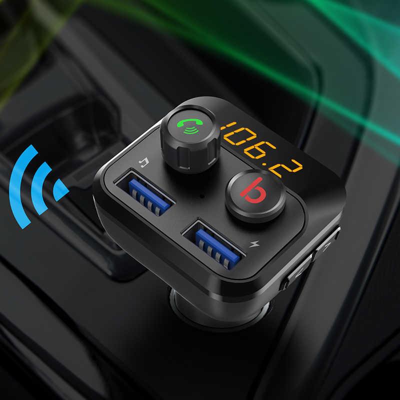 CDEN Автомобильный MP3-плеер 5,0 Bluetooth FM USB передатчик автомобиля Зарядное устройство U диск без потерь музыку стерео EQ звуковой эффект Bluetooth автомобильный набор, свободные руки,