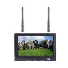 SKY-700D 5.8 GHz 32CH FPV Monitor de Receptor de Diversidad 7 pulgadas LCD Monitor FPV DVR Incorporado Grabación F20322