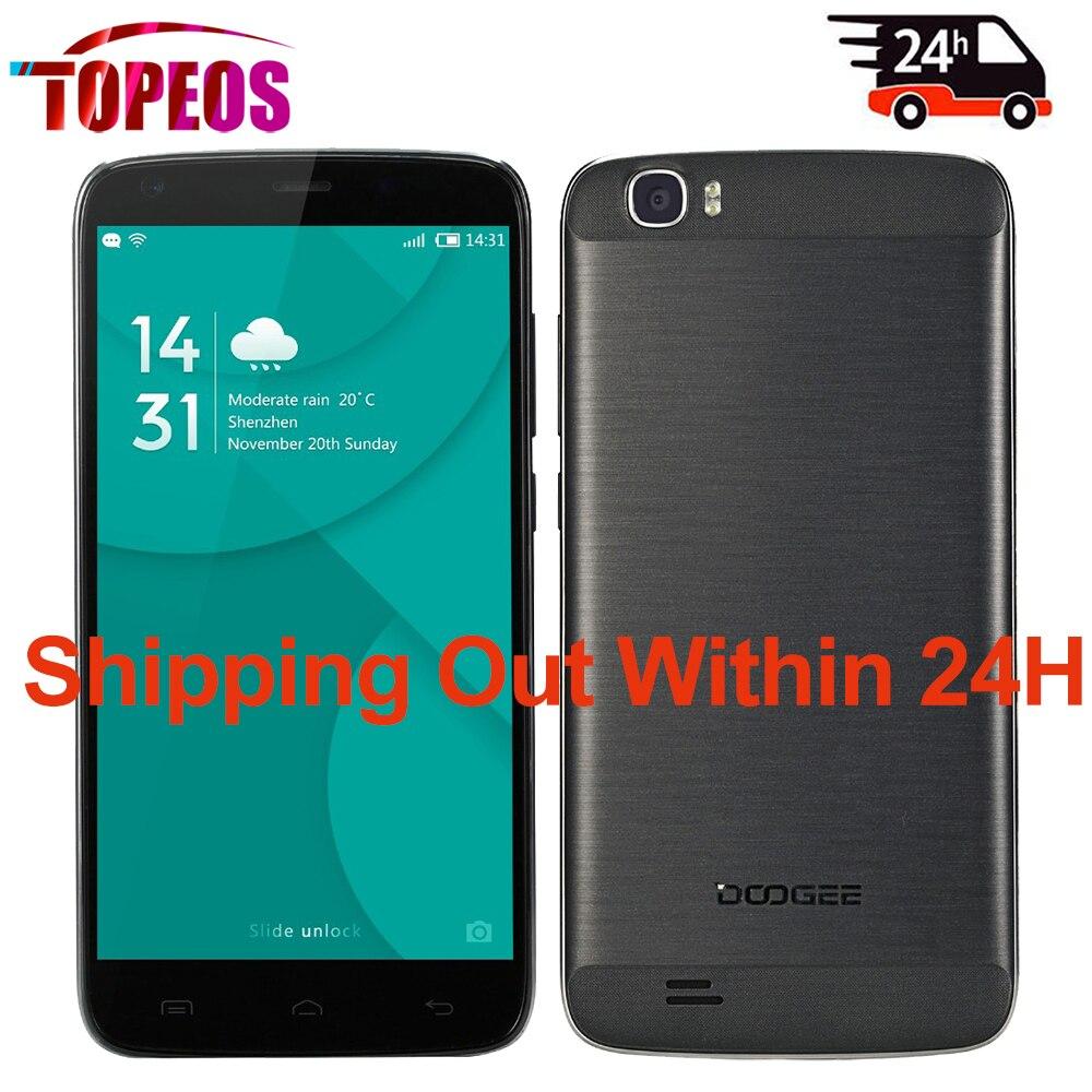 Цена за Doogee T6 Pro 6250 мач Большой Батареи 5.5 дюймов Мобильный Телефон MT6753 Octa Core 1.5 ГГц 3 ГБ RAM + 32 ГБ ROM Android 6.0 4 Г LTE Быстрая Зарядка