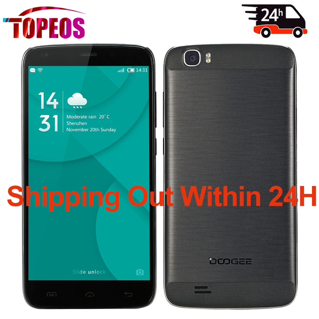 Doogee T6 Pro 6250mAh Big Battery 5.5inch Mobile Phone MT6753 Octa Core 1.5GHz 3GB RAM+32GB ROM Android 6.0 4G LTE Quick Charge
