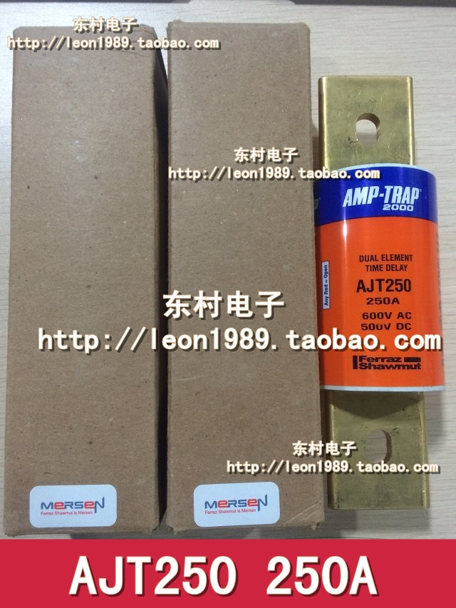 French MERSEN Ferraz Fuse Amp-Trap 2000 fuses AJT250 250A 600V [sa]roland ferraz mersen fuses amp trap fuse atqr10 10a 600v 5pcs lot