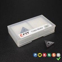 2PCS TNGA160404 TNMA160404 TNMG160404 CBN HRC60 External Turning Tools Carbide insert High quality Lathe cutter Tool
