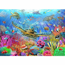 DIY diamond painting sea turtle dolphin embroidery Marine life Coral Mosaic starfish cross stitch star decor
