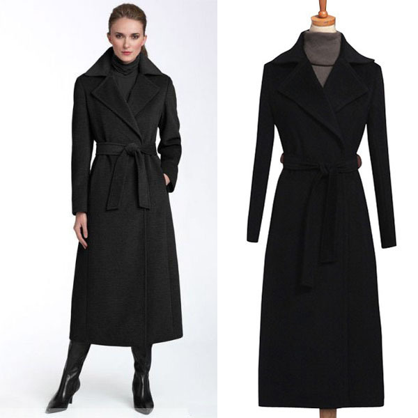 Popular Ladies Belted Cashmere Coat-Buy Cheap Ladies Belted ...