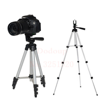 Universal Portable Camera Tripod For IPhone With Rocker Arm Tripod Stand For Canon Nikon Sony DSLR