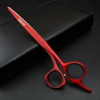 7 inch high end Japan 440c hair scissors set salon hairdressing cutting professional scissors hairdresser