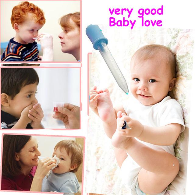 Baby Toddler Silicone Plastic Feeding Medicine Liquid Ear Pipette Dropper Baby given medicines feeding nipple Nasal Aspirator