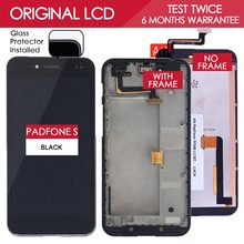 100% Tested Original 5 inch 1920×1080 Display For ASUS PadFone S PF500KL PF500 T00N LCD Touch screen with Frame Digitizer