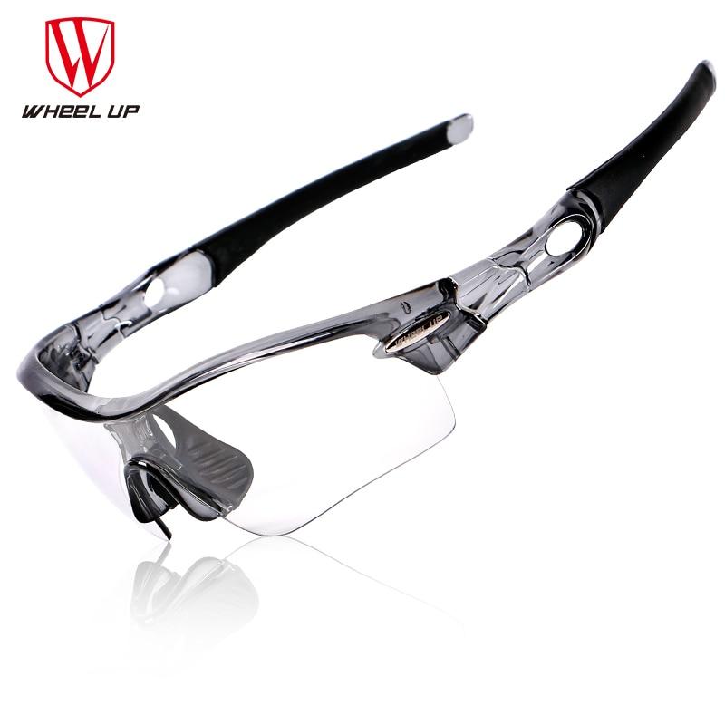 WHEEL UP Cycling Glasses font b Polarized b font Men Photochrom Cycling Goggles Sport font b