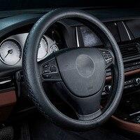 Wołowej Kierownicy Samochodu Pokrywa Dla EX25 Infiniti FX35 G25 G2 JX35 M25L QX50L M25 QX56 Q70L Auto Akcesoria samochodowe stylizacji