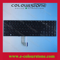 จัดส่งฟรี5ชิ้น/ล็อตRUแป้นพิมพ์แล็ปท็อปสำหรับSAMSUNG RF710 RF711สีดำที่มีbacklitโน๊ตบุ๊คแป้นพิมพ์CNBA5903070CBYNF