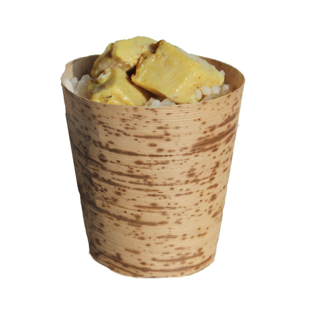 popular disposable bamboo cups