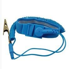 Bracelet élastique antistatique avec Clip pour la réparation d'électronique sensible, nouvelle marque