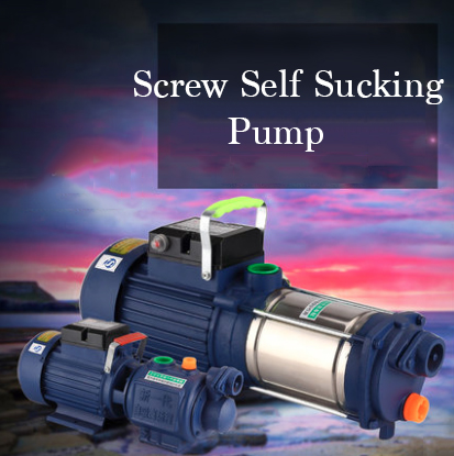 Automatic 2 2kw Cast Iron Self priming Booster Pump 100m Low Noise Screw Pump Electrical Self