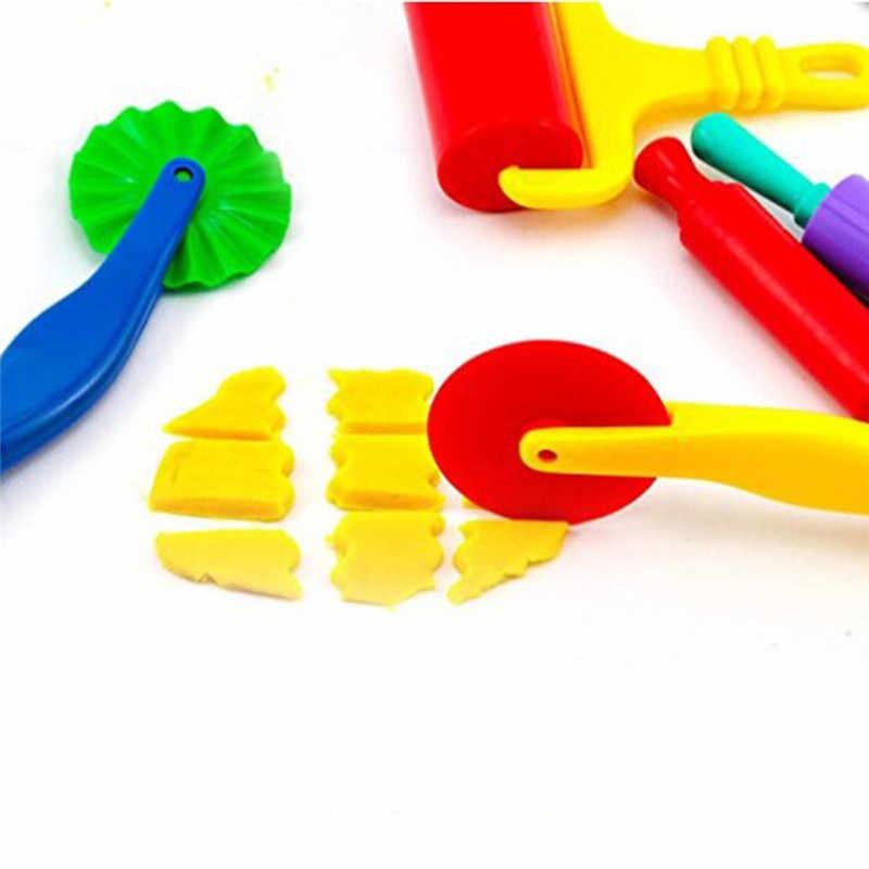 Цветной Пластилин Play-Doh модельный инструмент игрушки Креативные 3D инструменты для пластилина набор теста, глиняные формы Улучшенный набор, обучающие и обучающие игрушки