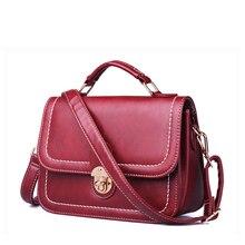 Retro Messenger Bag Women Classy Shoulder Bag Lovely Designer PU Ladies Crossbody Bag Blue Black Burgundy