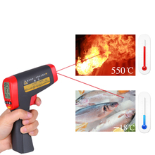 Cheapest prices UNI-T UT300A Non-Contact LCD display IR Infrared Thermometer Temperature Gun with Laser Switch -18C ~ 280C 500mS Response Time