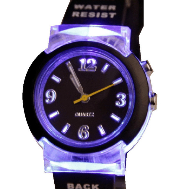 Authentic EVECICO children waterproof sports watch students table table multifunctional luminescence can quartz watch