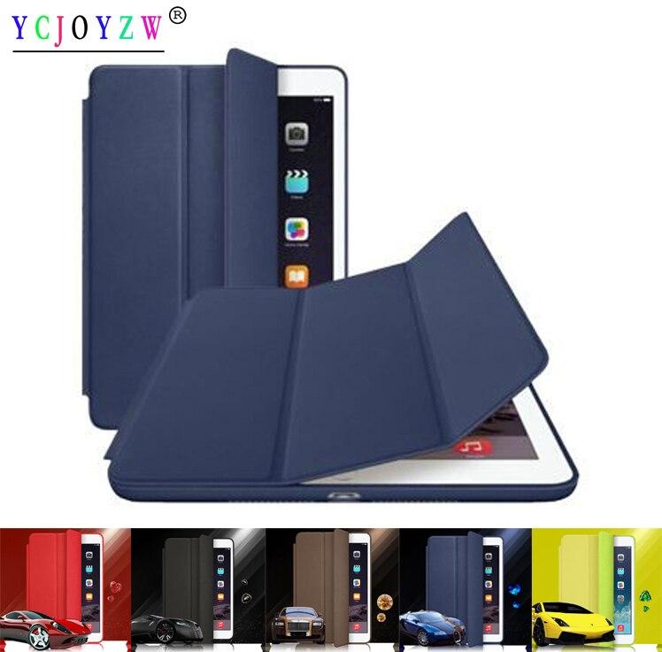 Case For Apple Ipad 4 3 2 (2011~2012),Original 1:1 PU Leather Smart Cover Auto Sleep For Ipad 2 Ipad 3 Ipad 4 Smart Case