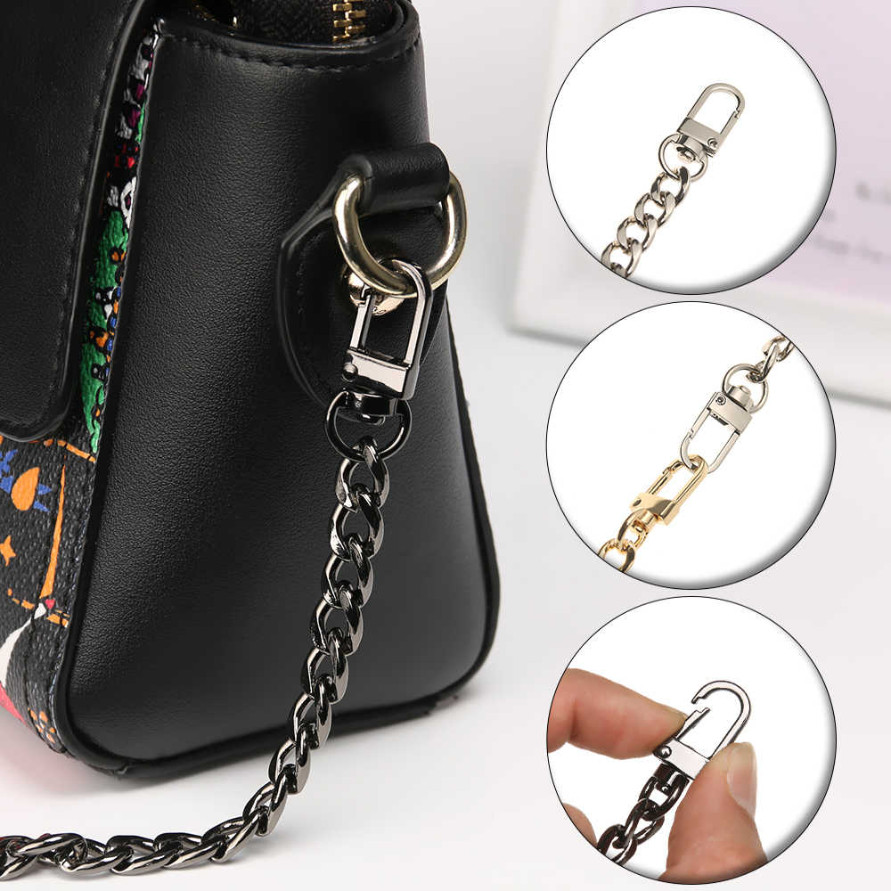 2019 New Ultralight Aluminum Straps for Bags Shoulder Bag Straps Handbag Chains DIY Bag Strap Replacement Purse Chain Straps