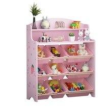Детская мебель для шкафа деревянная книжная полка книжный шкаф для хранения игрушек estante de almacenamiento de juguetes стеллаж для хранения игрушек
