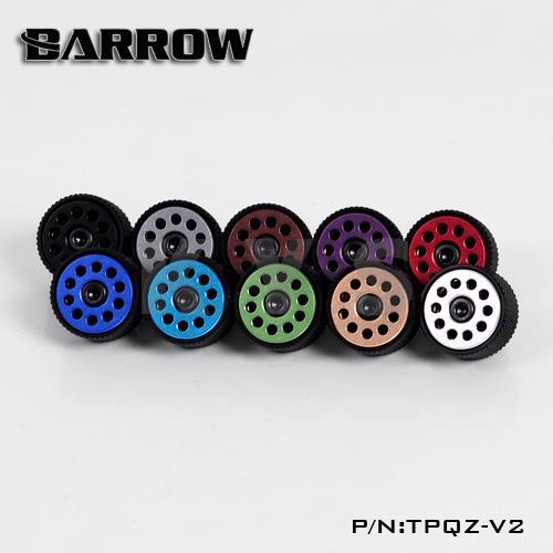 Silver Shiny Barrow G1//4 Manual Exhaust Valve