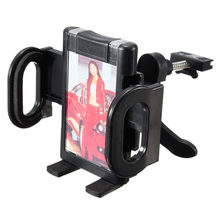 Universal 360 Degree Adjustable Car Air Vent Phone Holder Stand Mount Cradle For iPhone For Samsung Mobile Phone GPS PDA