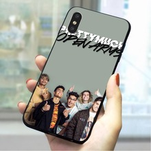 PRETTYMUCH Soft TPU Case for iPhone 5S Protective Phone Cover for iPhone SE 6 6S Plus 7 8 X Xs Max XR 5 Soft tpu soft protective cover case for iphone se 5s