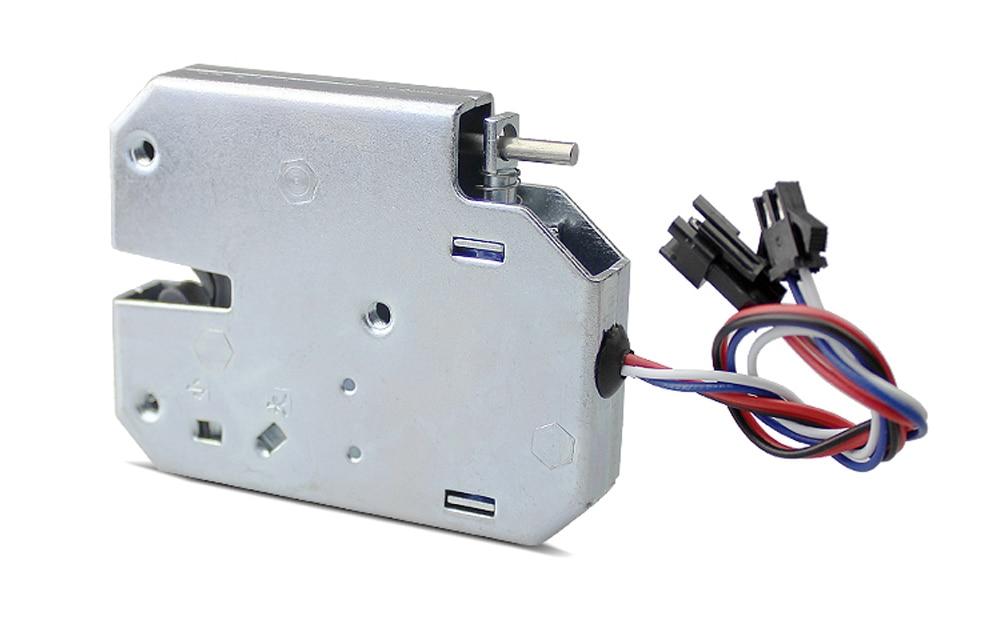 HTB1UZg7XvfsK1RjSszgq6yXzpXaF Small electromagnetic lock DC 12V1.5A supermarket intelligent locker electronic lock access control electric lock mailbox lock