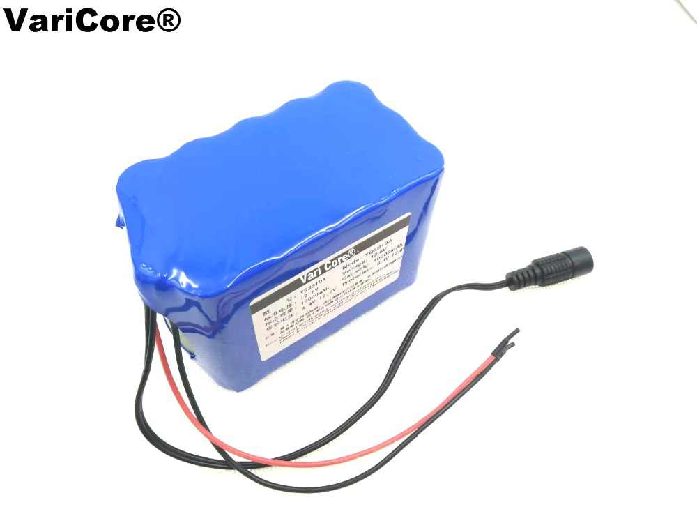 12 V 10 Ah 10000 mah литий-ионный аккумулятор ксеноновая лампа светодиодный цифровой мобильный источник питания Аварийная батарея блок питания