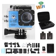 Cámara de acción WIFI 16MP 1080 P 30fps SJ plus cam Full HD yi xiao mi gitup ir dvr pro subacuática impermeable kamera deporte cámara