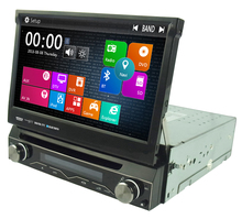 Single 1 Din Car DVD Player autoradio GPS WIN8 UI Touch Stereo WiFi 3G Radio automotive with steering wheel control for Any Car