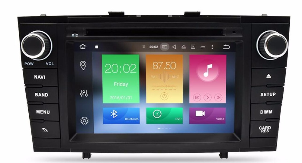 Android 9.0 Car DVD Stereo Multimedia Headunit For <font><b>Toyota</b></font> <font><b>T27</b></font> Avensis 2009-2014 Auto PC Radio GPS Navigation Video Audio 4G RAM image