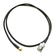 RF LMR200 SMA Male to UHF SO-239 Female Coaxial Antenna Connector 43inch /3,6ft/110cm